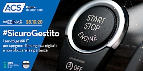 Sicuro Gestito - I servizi gestiti in ambito IT tickets