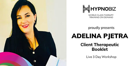 Client Therapeutic Booklet with Adelina Pjetra tickets