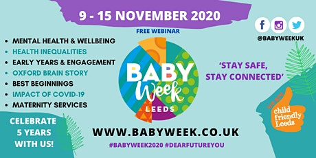 Best Start, Mental Health & Maternity | Experiences during Covid-19 & More tickets