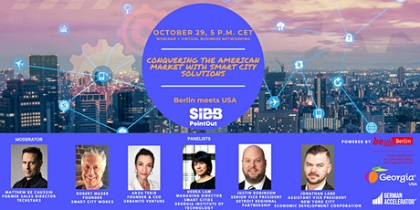 Berlin meets USA Conquering the American market with smart city solutions tickets