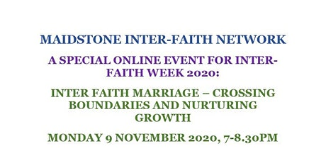 Inter-Faith Marriage: Crossing Boundaries and Nurturing Growth tickets