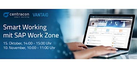 Smart Working mit SAP Work Zone Tickets