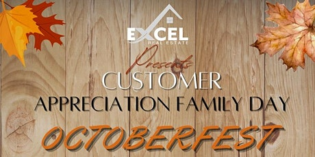 Excel Real Estate's Friends and Family Appreciation Day tickets