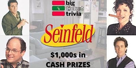 """Seinfeld"" Virtual Trivia tickets"