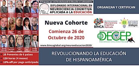 2° Cohorte Diplomado Int en Neurociencia Cognitiva Aplicada a la Educación entradas