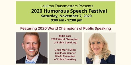 Humorous Speech Festival - Hosted by Laulima Toastmasters Club tickets