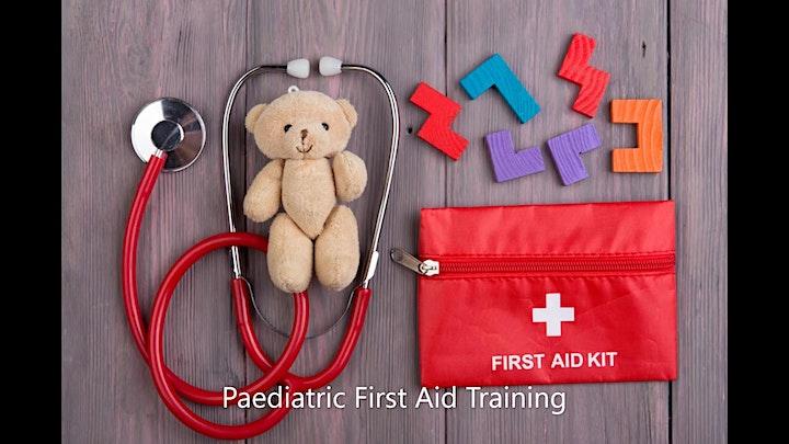 Paediatric First Aid  Training image