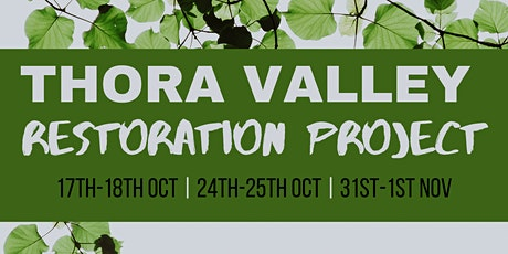 Thora Valley Restoration Project - WORKSHOP 3 tickets