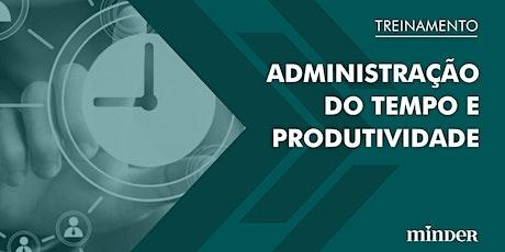 [Treinamento online] Administração do Tempo e Produtividade ingressos