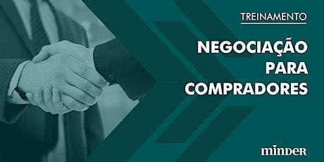 [Treinamento online] Negociação para compradores ingressos