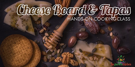 Online Class:  Cheese Board & Tapas  Hands-On Cooking Class tickets
