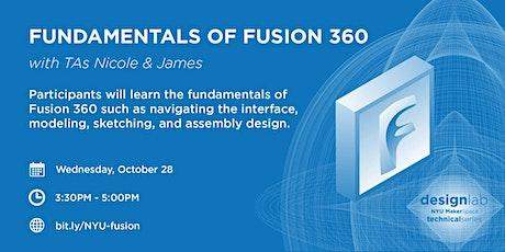 Fundamentals of Fusion 360 tickets