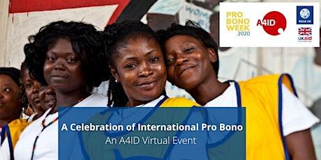 A Celebration of International Pro Bono tickets