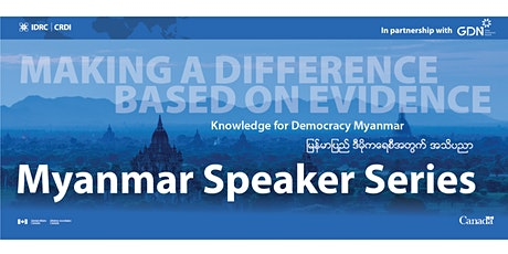 Boosting Investment in Social Science Research in Myanmar tickets