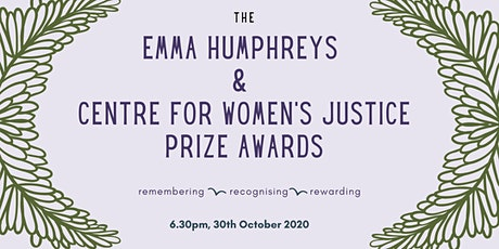 Emma Humphreys and Centre for Women's Justice Awards tickets