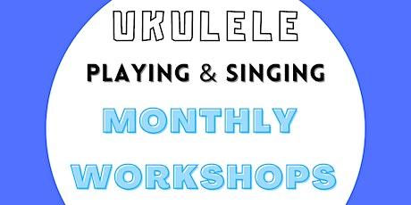Ukulele Fingerpicking And Singing Workshop | Beginner Friendly tickets