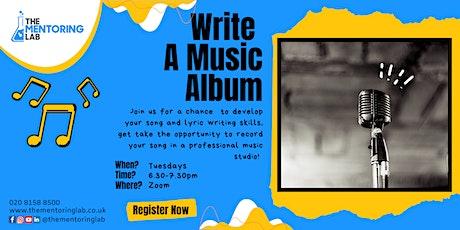 Write a Music Album tickets