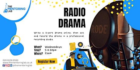 Create a Radio Drama tickets