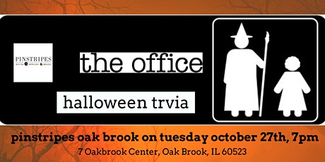 The Office Halloween Episodes Trivia at Pinstripes Oak Brook tickets