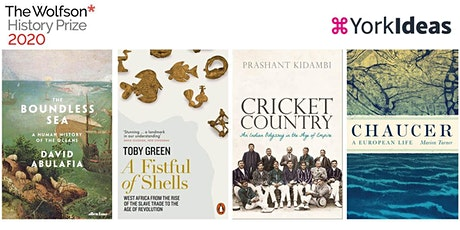 Celebrating outstanding history: Wolfson History Prize 2020 finalists tickets