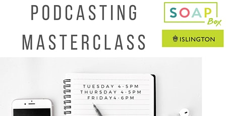 Podcast Masterclass tickets