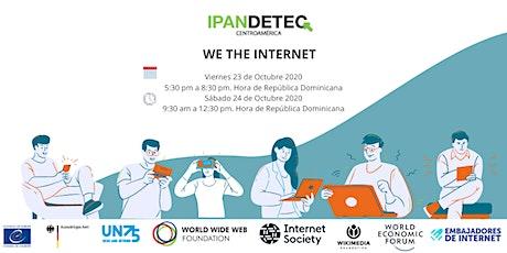 WE THE INTERNET República Dominicana entradas
