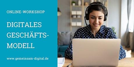 In zwei Tagen zum digitalen Geschäftsmodell (Online-Workshop) Tickets