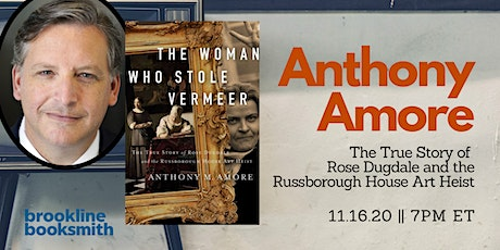 Book Launch: Anthony Amore discusses The Woman Who Stole Vermeer tickets