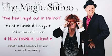 The Magic Soiree -  comedy magic dinner theater tickets