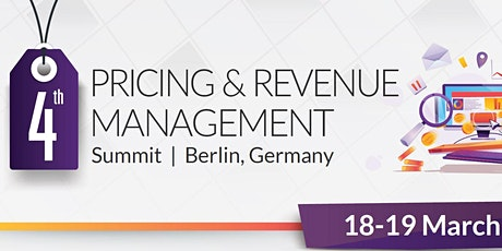4th Pricing and Revenue Management Summit Tickets