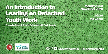 An Introduction to Leading on Detached Youth Work tickets
