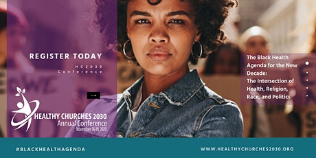 Healthy Churches 2030 Annual Conference: Nov 16-19, 2020 tickets