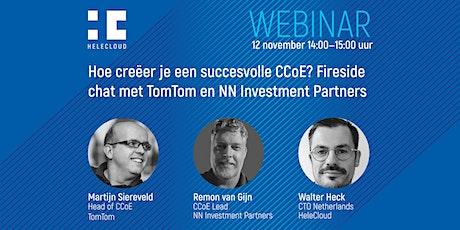 Hoe creëer je een succesvolle CCoE? Fireside chat met TomTom en NNIP tickets