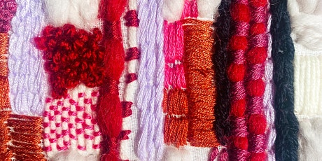 ONLINE Abstract Hand Embroidery Workshop tickets