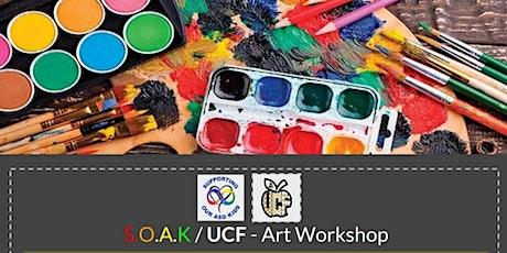 Grades 3 – 5 Art Workshop: Tissue Paper Lanterns tickets