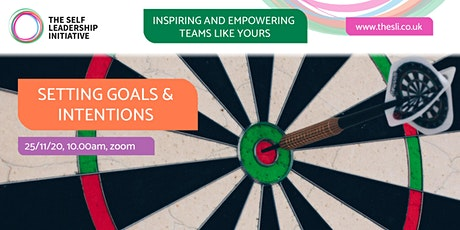 Setting Goals & Intentions tickets