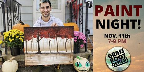 November Forest | Paint Night! tickets