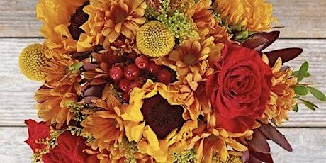Fall Floral Design Workshop tickets