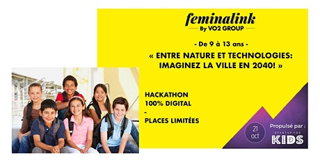 Hackathon kids 100% digital billets