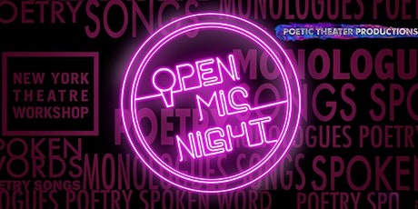 Virtual Open Mic Night, NYTW/PTP tickets