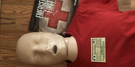 CPR, AED, First Aid and Gunshot & Stabbing Wound Trauma Class tickets