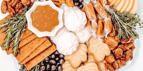 Pumpkin Spice Latte Dessert Board Workshop