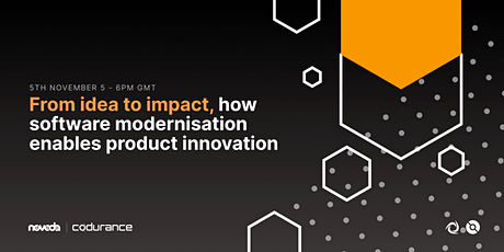 From idea to impact, how software modernisation enables product innovation biglietti