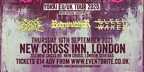 "WITHIN DESTRUCTION ""YOKAI"" UK/EU RELEASE TOUR W/SPECIAL GUESTS tickets"