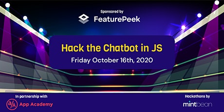 MB: Hack the Chatbot in Javascript tickets