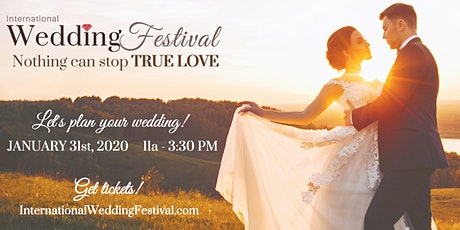 Fresno Wedding Festival ~ January 31, 2021 tickets