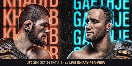 UFC 254: Khabib vs. Gaethje Viewing Party at Mac's tickets