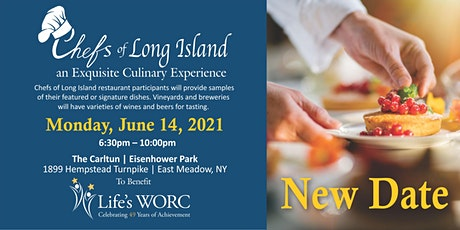 Chefs of Long Island Food & Wine Tasting  **NEW DATE** June 14, 2021 tickets