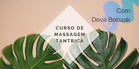 Curso de Massagem Tântrica com Deva Bebaak ingressos