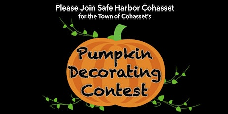 Town of Cohasset's Pumpkin Decorating Contest tickets